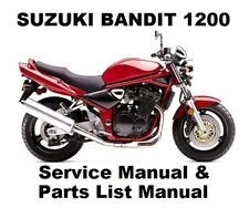 suzuki gsf1200s bandit genuine workshop service manual ebay rh ebay co uk suzuki gsf 1200 bandit service manual suzuki gsf 1200 bandit repair manual