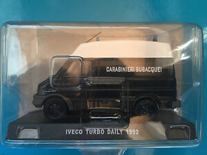 DIE-CAST-034-IVECO-TURBO-DAILY-1992-034-SCALA-1-43-CARABINIERI