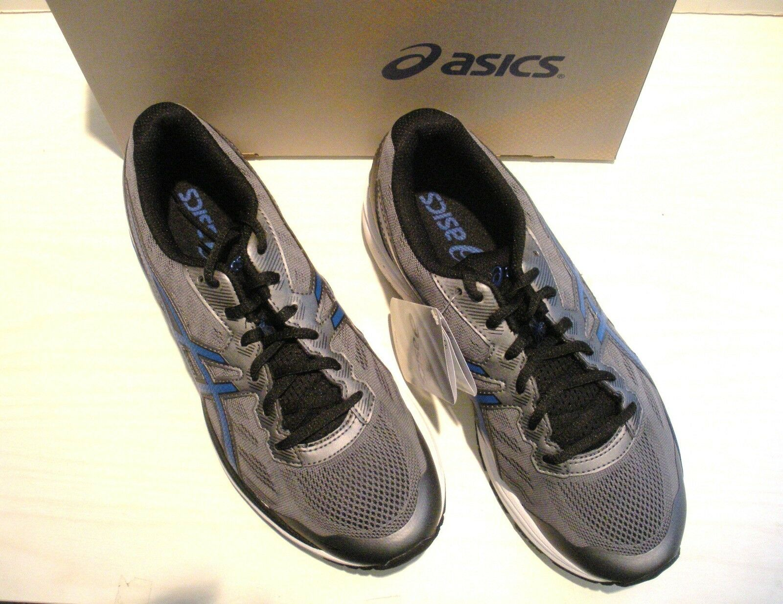 ASICS hommes GT-1000 5 RUNNING-SNEAKERS- -T6A3N-9745- Chaussures -T6A3N-9745- RUNNING-SNEAKERS- CARBON/ IMPERIAL- SZ 8 269c86