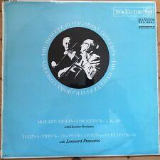 SB 6715 Mozart Violin Conc. No. 5 / Turina Trio / Heifetz / Piatigosky O/S