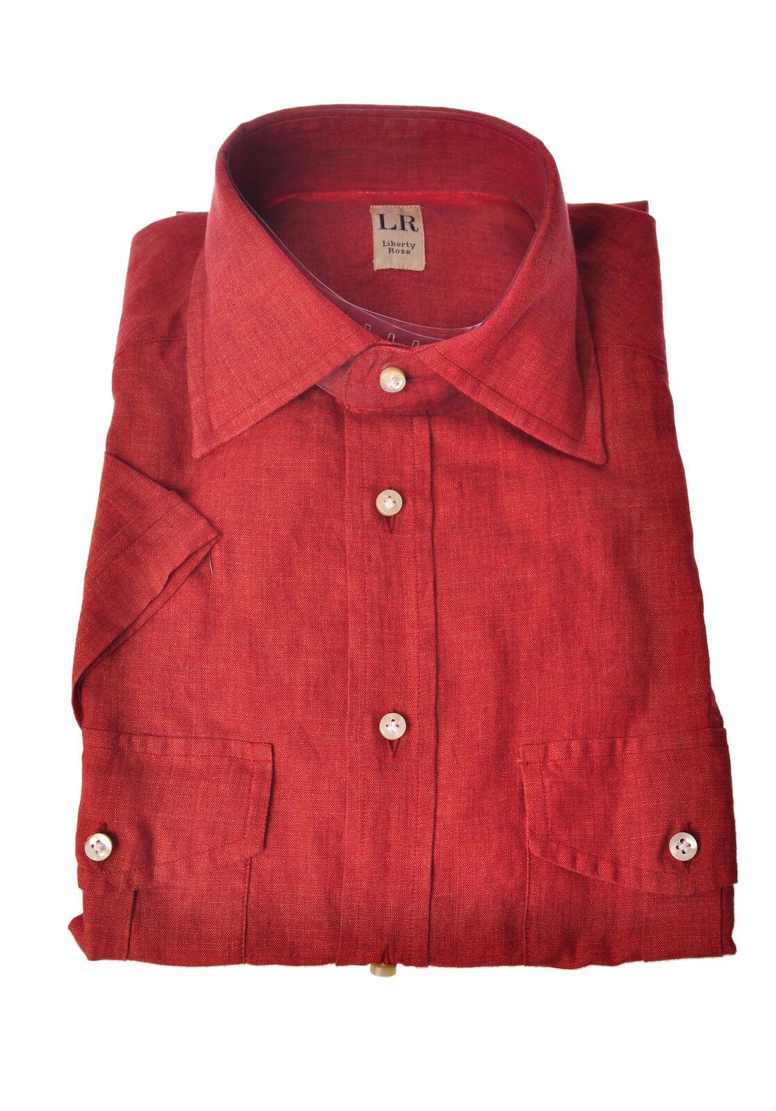 Liberty pink  -  Shirt - Male - Red - 3461821A180439