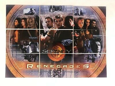 Serenity The Movie Renegades Chase Card R9