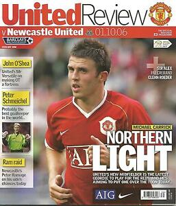 Football-Programme-Manchester-United-v-Newcastle-United-Premiership-1-10-2006