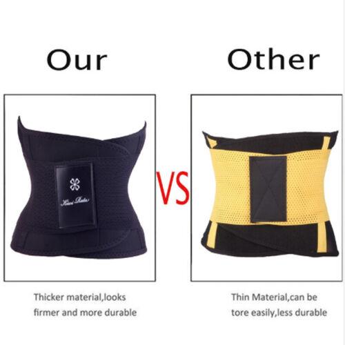 Sport Waist Trainer Weight Loss for Women Sweat Thermo Wrap Body Shaper Belt DSK