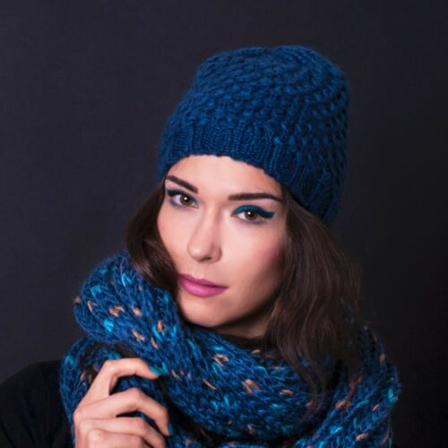 Womens Ladies Winter Warm Knitted Crochet Beret Beanie Hat Cap Fashion