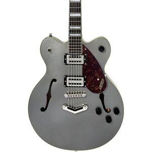 Gretsch G2622 Streamliner Center Block with V-Stoptail Guitar Phantom Metallic