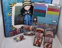 Santoro London Gorjuss Girl Ultimate Card & Stamp Kit W/ Free Tote (240 Pcs)