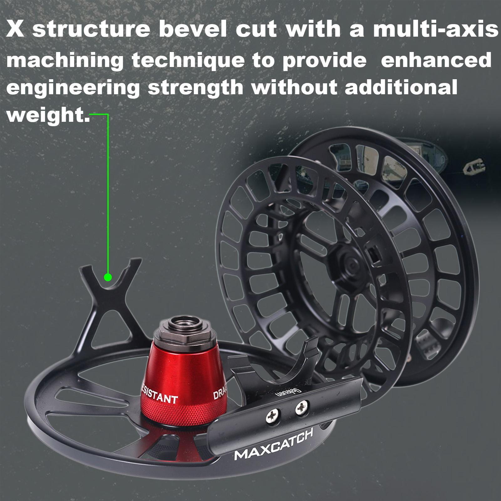 Maxcatch Sprint Expert Fliegenrolle vollständig versiegelt Angelrolle Angelrolle Angelrolle 6-11wt 9de7dc