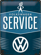 Volkswagen Service - 3D Metal Wall Sign. Size : 30cm by 40cm