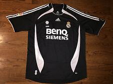 Men's XL adidas 2006-07 Real Madrid David Beckham #23 Away Soccer Jersey