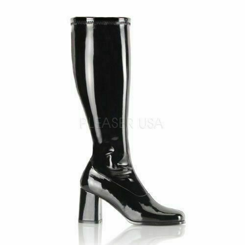 60s Mod GoGo Drag Queen Costume Boots
