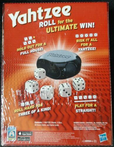 Novo; Yahtzee ™ jogo de dados por Hasbro-Frete Grátis