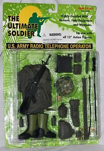 Ultimate-Soldier-U-S-Army-Radio-Telephone-Operator-for-12-034-figures-New-Sealed