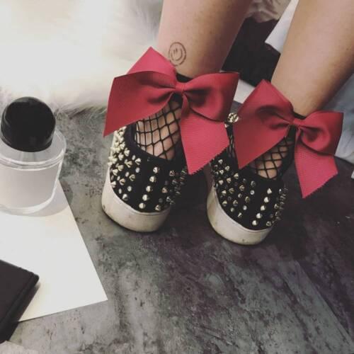 Mode Frauen Fischnetz Knöchelhohe Socken Mesh Spitze Fischnetz Kurze Socke