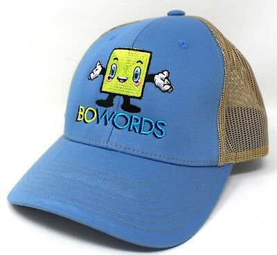 Sparsam Bowords Spiel Blau Kleidung & Accessoires Hellbraun Netz Rücken Trucker Snapback Kappe Baseballmütze Herren-accessoires