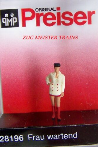 HO Preiser 28196 Woman in Red Boots Wearing a Rather Tiny Skirt 1//87 FIGURE 4Q7