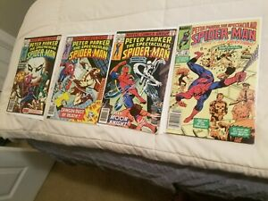 Peter-Parker-Spectacular-Spiderman-19-22-30-83-Bronze-Age-Moon-Knight-Key-Issue