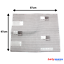 2 x IKEA 60cm Cappa estrarre i filtri anti grasso con filtro a carbone 1 X