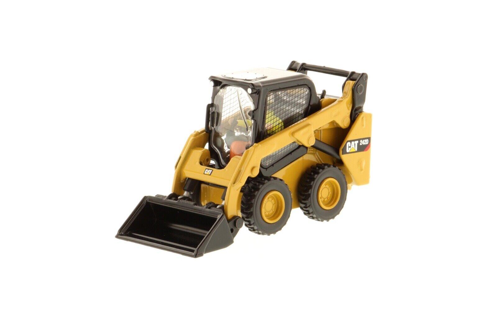 a la venta Cat Caterpillar Skid Skid Skid Steer Cochegador 242D escala 1 50 85525 Diecast Masters  edición limitada