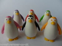 IWAKO Japanese Animal Novelty Puzzle Eraser Rubber- IWAKO Penguin Erasers