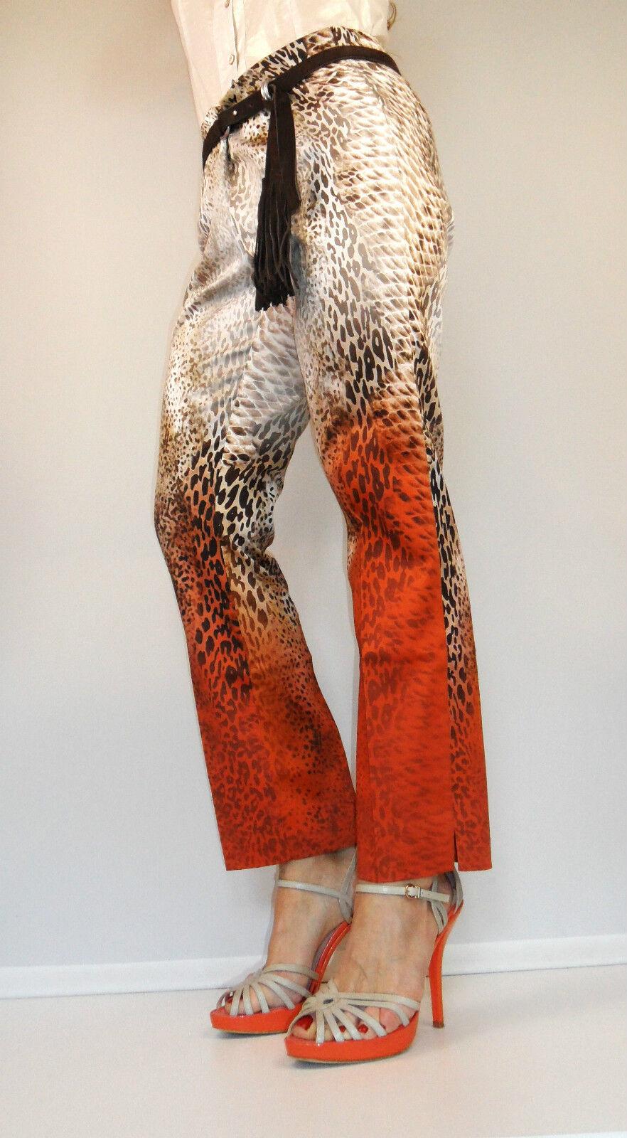 Tuzzi eleganti 7 8 Pantaloni leostyle con SFUMATURE Tg. 38 40 42 44