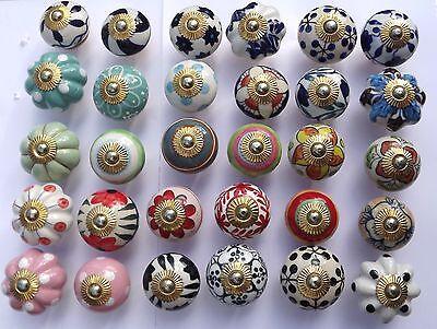 Manopole Pomelli in Ceramica Porcellana per Cassetti Credenza Armadio  Cucina | eBay