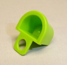 x1 NEW Lego Container D-Basket Minifig Body Wear LIME GREEN