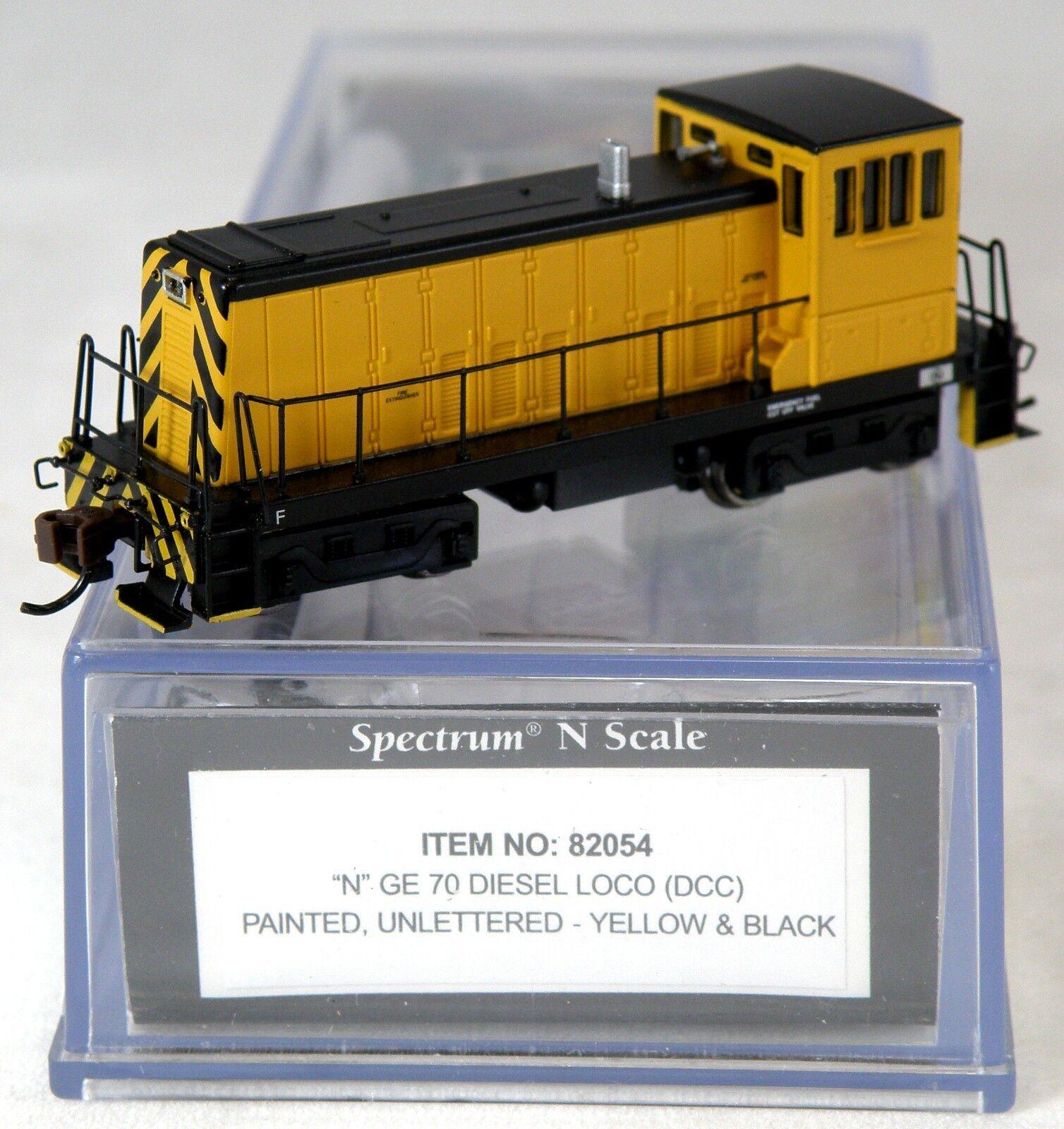 Escala N Ge 70-ton Locomotora Diesel w dcc-Amarillo Y Negro-Bachmann   82054