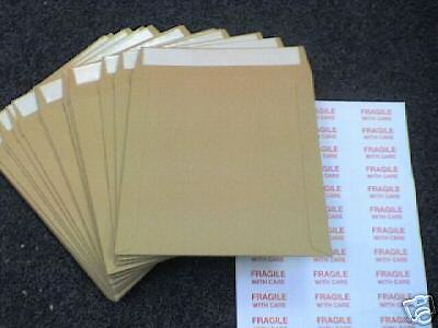"""fragilelabels 10 7/"""" fort tous board brown record pochettes"""
