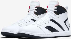c92ac03fce13 Men s Air Jordan Flight Legend White Gym Red Black Sizes 8-13 NIB ...
