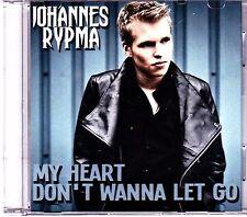 Johannes Rypma-My Heart Dont Wanna Let Go Promo cd single