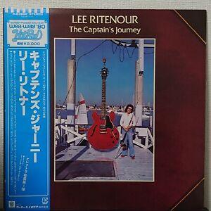 LEE RITENOUR THE CAPTAIN'S JOURNEY ELEKTRA P-6388E Japan OBI VINYL LP
