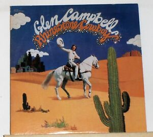 Glen-Campbell-Rhinestone-Cowboy-LP-Record-Album-SN16029-Re-issue-Green-Label