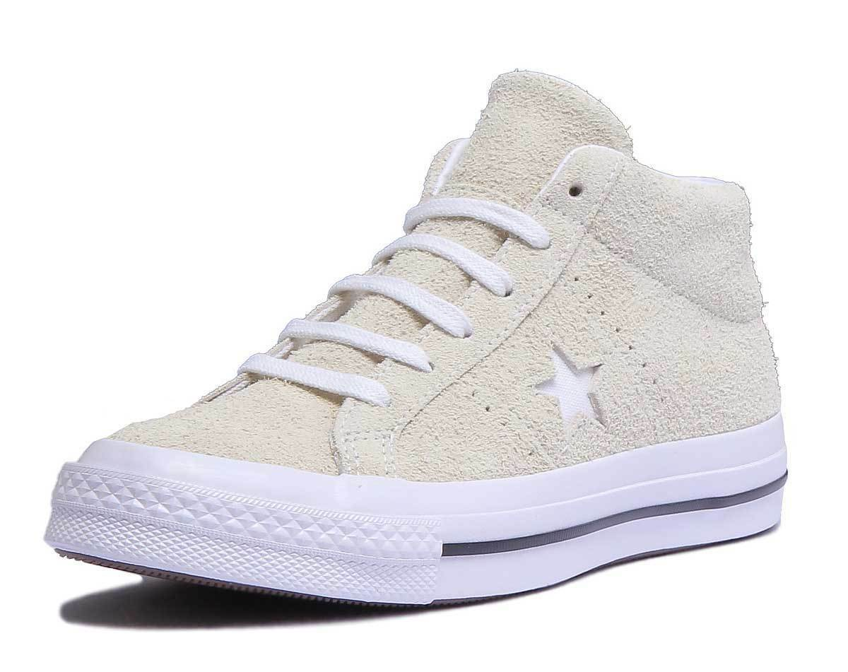 Converse 159594C Womens Cotton Candy One 1 Star UK Mid Trainer Suede Size UK Star 3 - 8 76f2e4