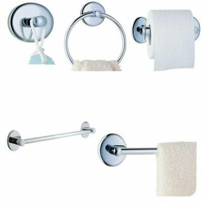Chrome 6 Pieces Bathroom Hardware Bath Accessories Set 9100 On sale!!