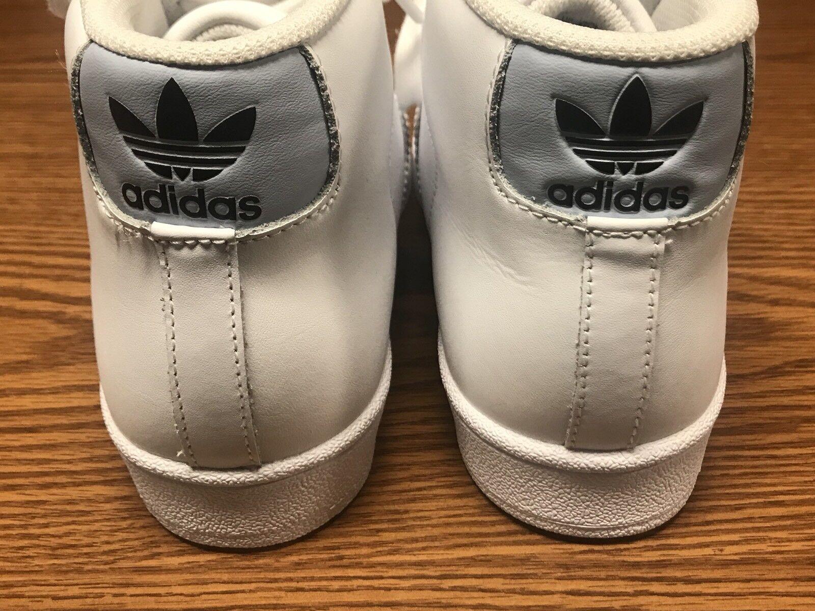 Adidas bw1306 luce unisex (modello bt alta luce bw1306 bianca blu guscio scarpette da sz noi 5 e451b2