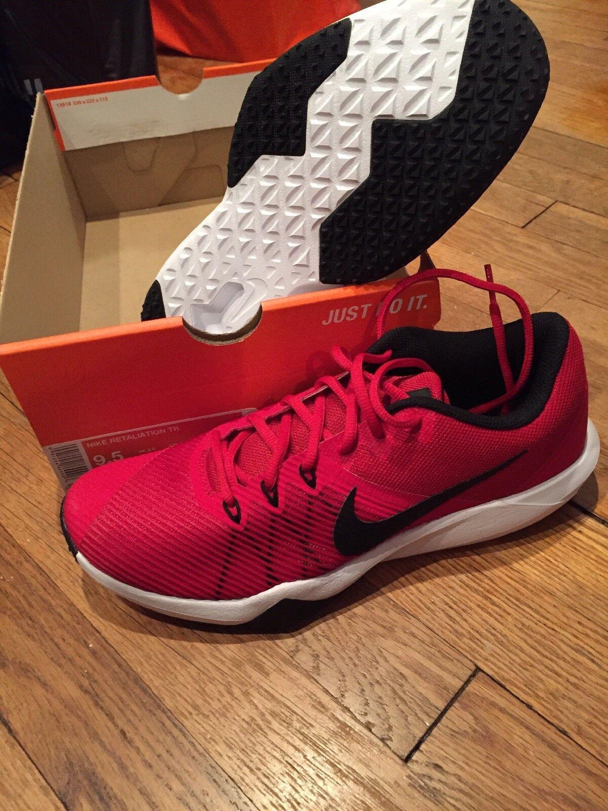 3086d7549a4 Nike Retaliation TR 917707-660 Gym Red Black White Men's Training Gym shoes  NEW noeqks4187-Athletic Shoes