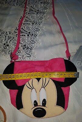 Süße Disneyland Paris Minnie Maus Tasche neu mit Etikett