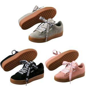 Wildleder Puma Robbon Vikky Plattform Zu Schuhe Sneaker Damen Plateau Bold Details 4LA3jR5