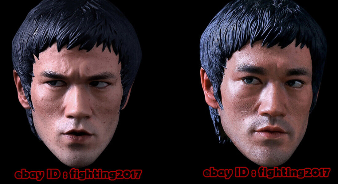 Dj-Personalizado 1 4 Bruce Lee Camino del Dragón Ropa Conjunto de Armas headsculpt en existencias