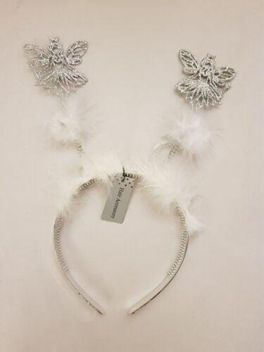 Noël Mignon Ange//flocon de neige Headbands Party Fun ** FREE P /& P **