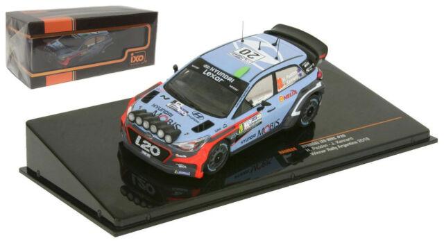 1 43 Ixo Ram624 Hyundai I20 Wrc Winner Rally Argentina H Paddon 2016