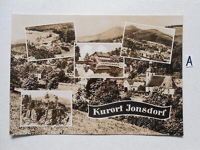 Kraftvoll Postkarte Ansichtskarte Sachsen.kurort Jonsdorf Entlastung Von Hitze Und Sonnenstich