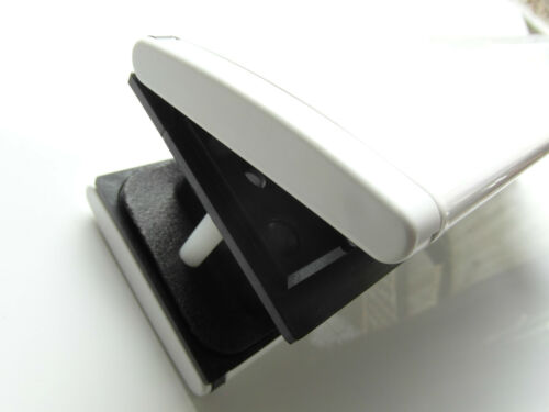 """TROJAN SPARTA TOP QUALITY 12/"""" WHITE 40-80mm LETTERBOX//LETTERPLATE FOR UPVC DOOR"""