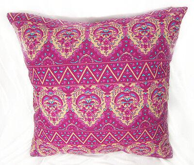 EA Soft Pure Cotton Oriental Stripe Flower Pattern Cushion Cover/Pillow Case