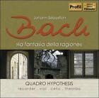 """Bach: La Fantasia della Ragione (CD, Jan-2009, Profil - Edition Gnter H""""nssler)"""