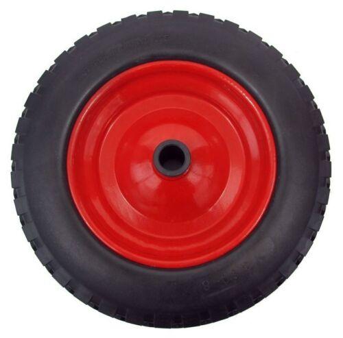 "PU 14/"" METAL Puncture Proof Wheel Barrow Tyre 3.50-8 Light foam WITH 1//2/"" BORE"