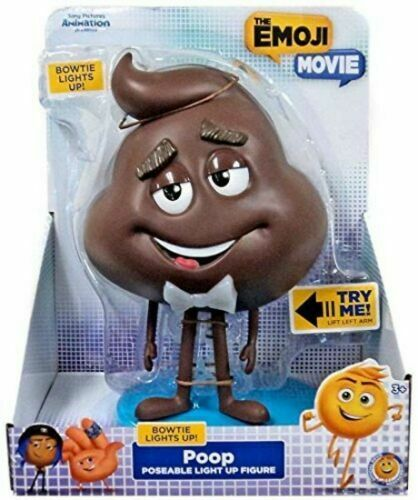 Emoji Just Play Movie Poop Daddy Articulated Figures