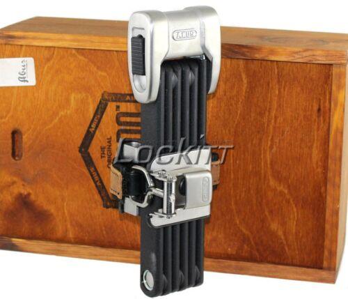 Made in Germany ABUS Bordo Centium 6010//90 Folding Lock Plus key system