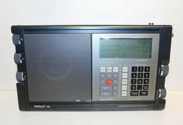 Grundig Satellit 500 700 AM FM SW Radio Receiver Tuning Knob